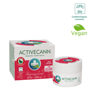 Annabis Activecann Organic Balm Natural Vegan Hemp